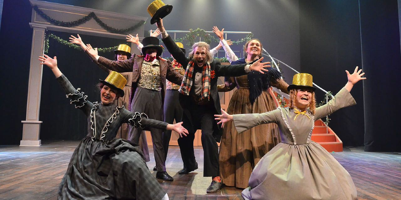 Theatre review: 'A Broadway Christmas Carol' mixes Scrooge with show tunes