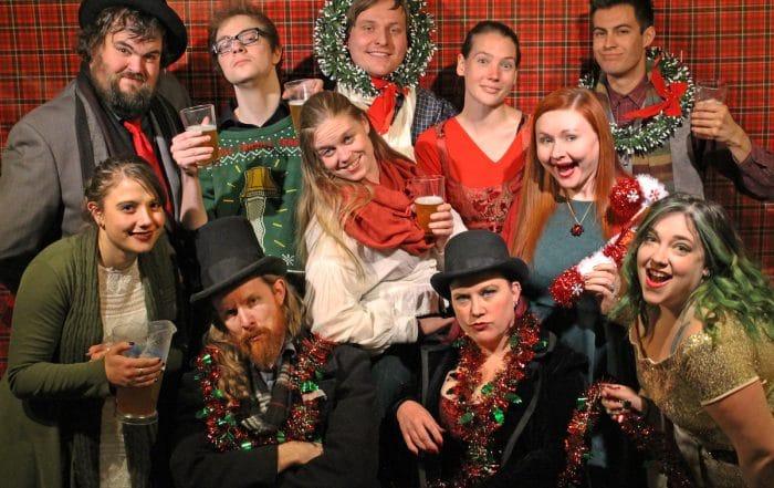 Drunk Christmas ensemble